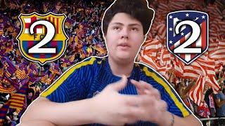 Barcelona 2 Atlético De Madrid 2 | Reacciones De Un Hincha Argentino | La Liga Santander 2019 | 20