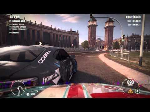 รวมช็อตเด็ดเกมแข่งรถ (best shoot of crashes )