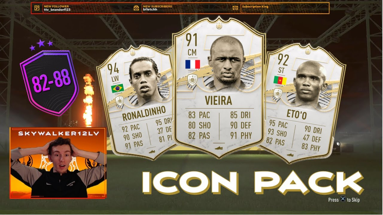 Download Prime Icon Roulette! 10x 82-88 Upgrade Packs! FIFA 21 ULTIMATE TEAM