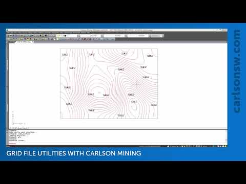 Modifying Grid Files with Grid File Utilities | Carlson Mining