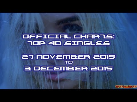 Official Charts (UK): Top 40 Singles (27 November 2015 - 03 December 2015)