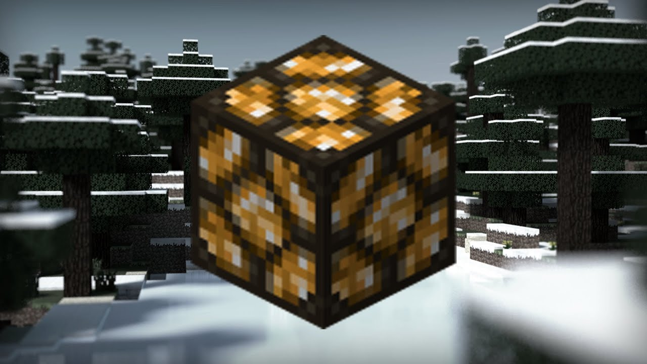 Minecraft: How To Craft   Redstone Lamp