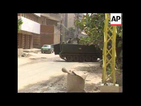 South Lebanon - Israelis Attack Beirut