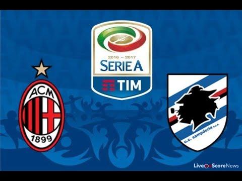 Sampdoria VS AC Milan Serie A Livestream 24.09.2017