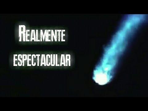 Impresionante Meteorito cruza estratosfera terminando con la atmósfera terrestre