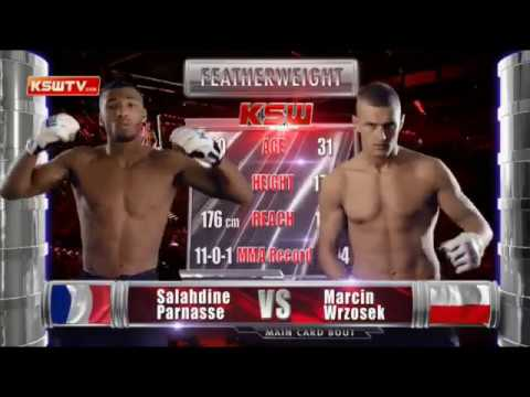 Salahdine Parnasse vs Marcin Wrzosek at KSW 46 - Full Fight