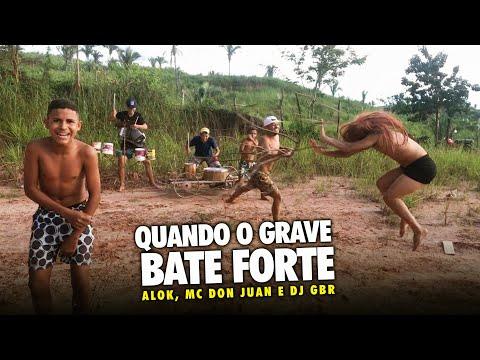 FUNDO DE QUINTAL OFC - LIBERDADE QUANDO O GRAVE BATE FORTE - Alok, MC Don Juan e DJ GBR