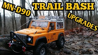 MN-D90 trail run and upgrades