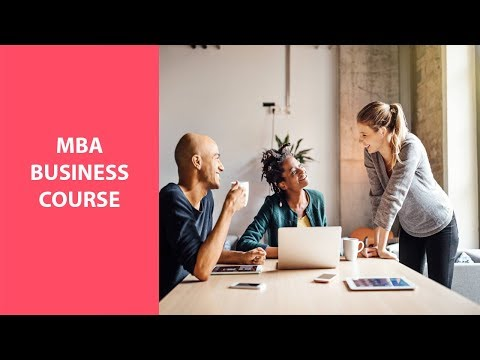 MBA, business course