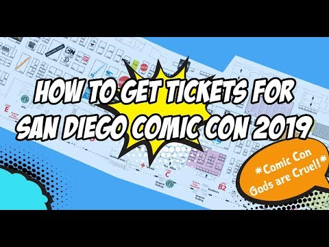 How to Get Tickets For SDCC 2020