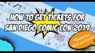 """How to """"Get"""" Tickets For SDCC 2020"""