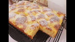 Vanille - Butterkuchen / fluffig / lecker/ Vanilla - butter cake/ ENG SUB