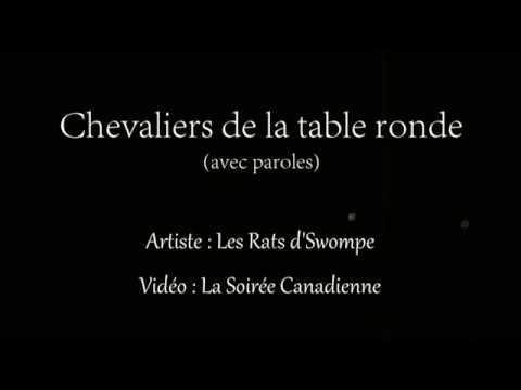 Chevaliers de la table ronde avec paroles les rats d - Les chevaliers de la table ronde chanson ...
