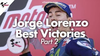 Best victories from Jorge Lorenzo's career! | PART TWO #ThankYouJorge