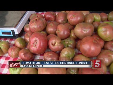 13th Annual Tomato Art Festival Held In Music City