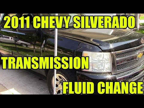 2011 chevy silverado transmission fluid change