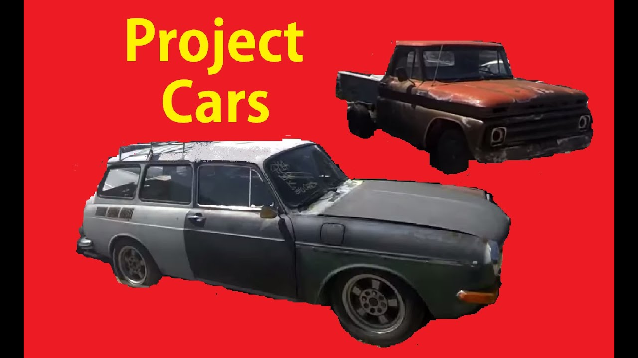 Classic Project Cars Barn Find Vintage Car Buying Video Classics