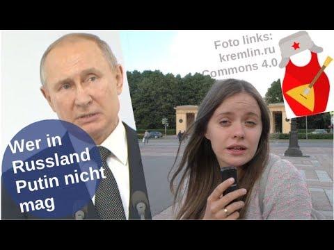 Wer in Russland Putin nicht mag