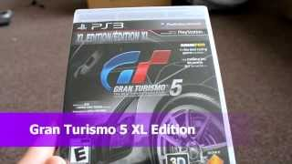 Unboxing Gran Turismo 5 XL Edition Polyphony Digital SCE Sony Computer Playstation 3 PS3