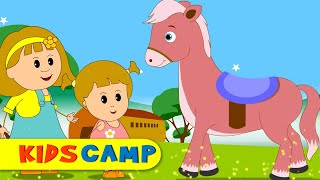 horsey horsey nursery rhymes 30 minutes compilation from kidscamp