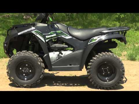 2015 Kawasaki Brute Force 300 Test