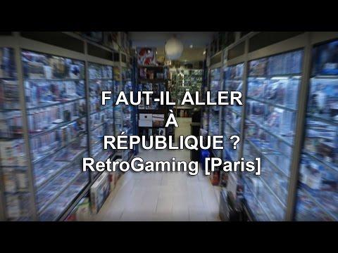 RetroGaming à REPUBLIQUE [Paris] - mon avis