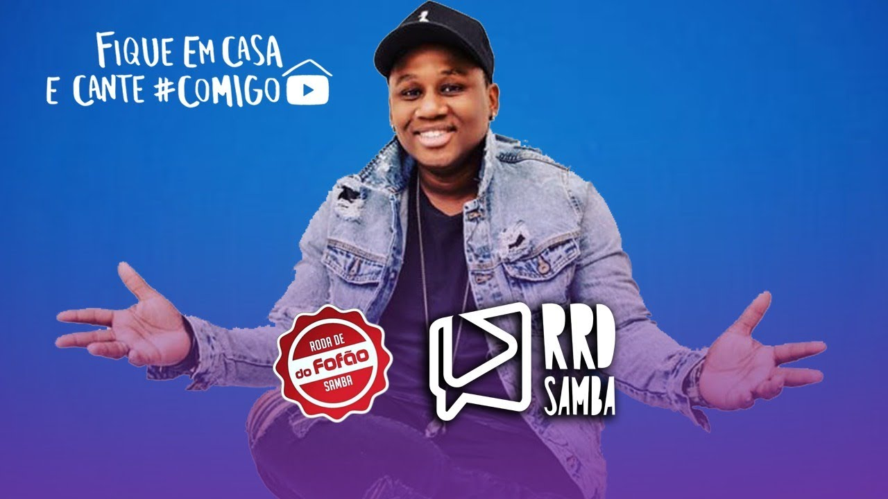 Cantor Fofão no RRD Samba | #FiqueEmCasa e Cante #Comigo
