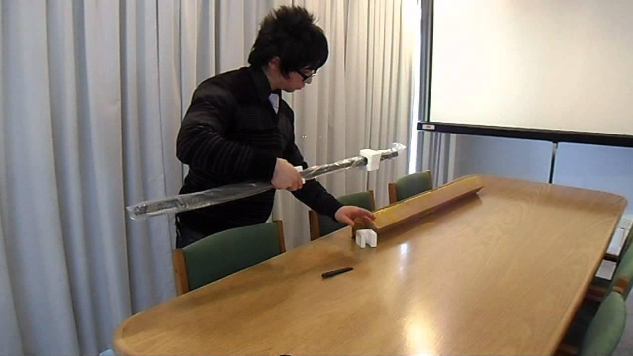 Unpacking Sasuke Uchiha's anime sword - YouTube