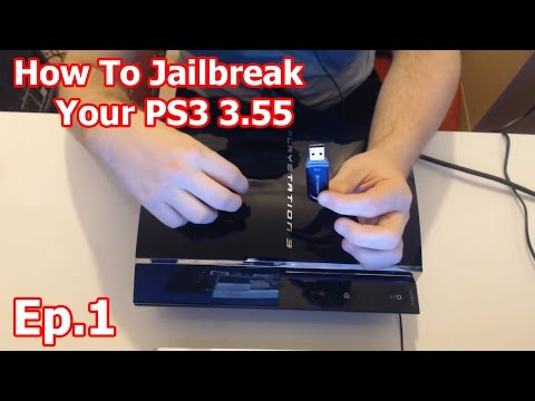Ep.1 - How To Jailbreak Your PS3 3.55 OFW Step By Step Guide
