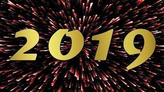 Happy New Year 2019 ✸ Minecraft Fireworks Show