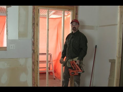 How To Fill in a Door  Framing