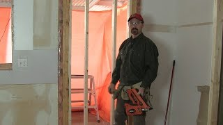 How To Fill In A Door Opening [framing]