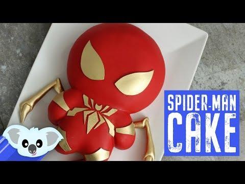 Iron Spiderman Cake | Avengers Infinity War| Koalipops How To