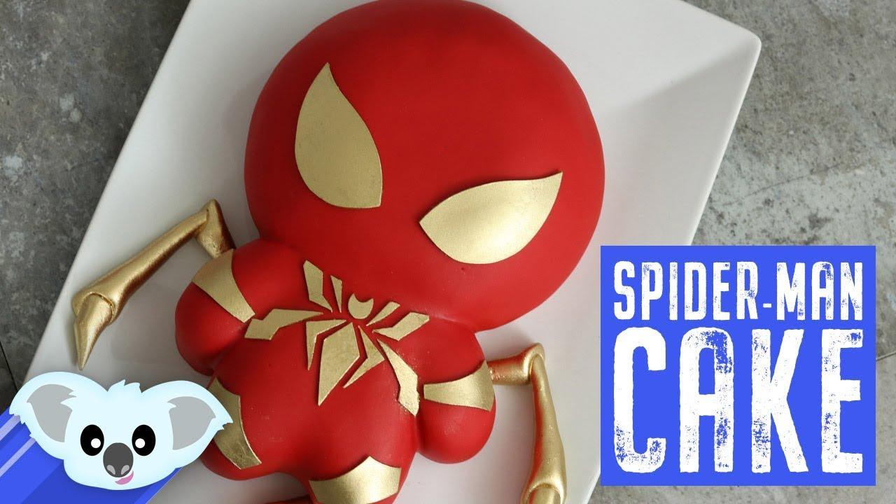 Iron Spiderman Cake Avengers Infinity War Koalipops How
