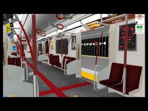 openBVE -- TTC Line 1 Yonge-University -- Finch to Downsview w\ TR (FULL ROUTE)(HD)