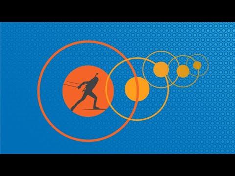 Биатлон прямой эфир 15.01.20. Кубок мира. Спринт 7,5 км. Женщины.  Прямая трансляция из Рупольдинга.