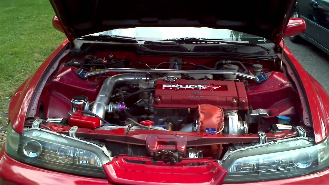 Hp Acura Integra Type R YouTube - Acura integra type r engine