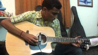 "Guitar song, Nenjukul from frilm ""Vaaranam Aayiram"" by SaiKrishnan.B"