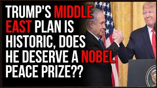 Trump Just Brokered An HISTORIC Middle East Peace Deal, Does He Deserve A Nobel Peace Prize??