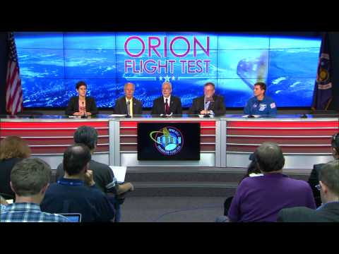 Orion's First Flight Test Reviewed