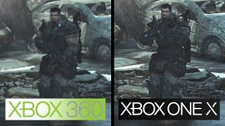 Gears of War 2 | Xbox One X vs Xbox 360 | 4K Graphics Comparison