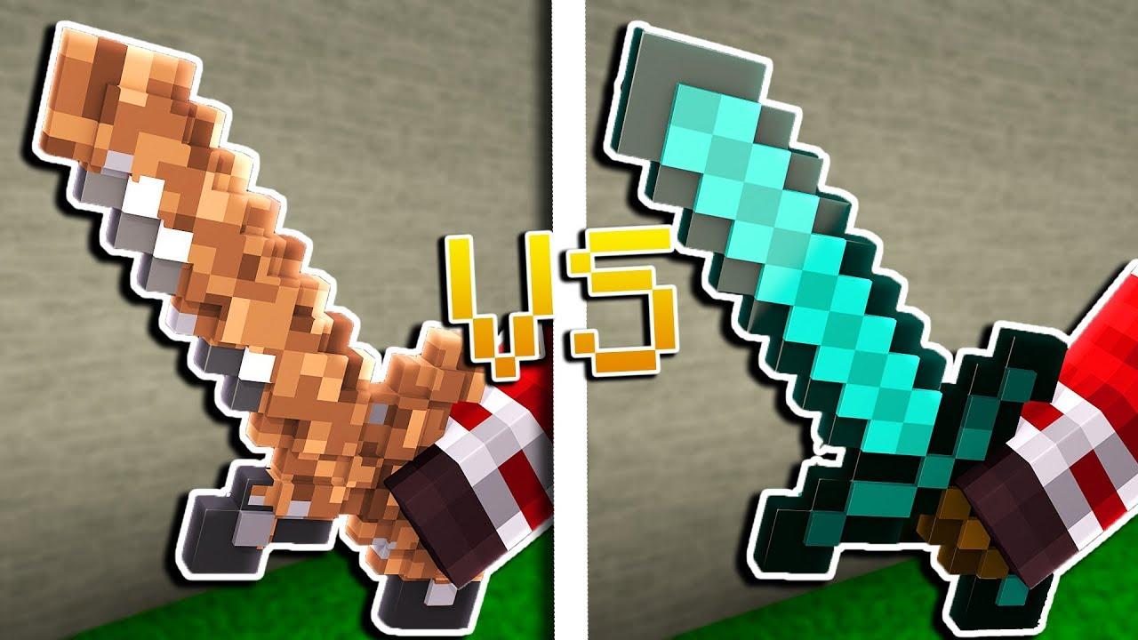 Ep e en terre vs p e en diamant dans minecraft youtube - Eppe minecraft ...