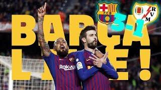 #BarçaRayo (3-1) |  BARÇA LIVE | Warm up & Match Center🔥