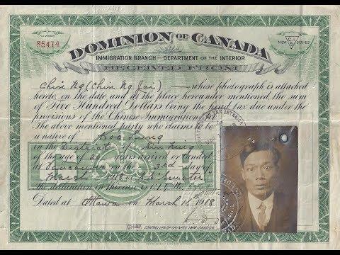 HQC4 - P6 - Les nationalismes et l'autonomie du Canada - 11 - Flux migratoires