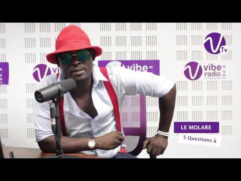 MOLARE INTERVIEW sur Vibe Radio