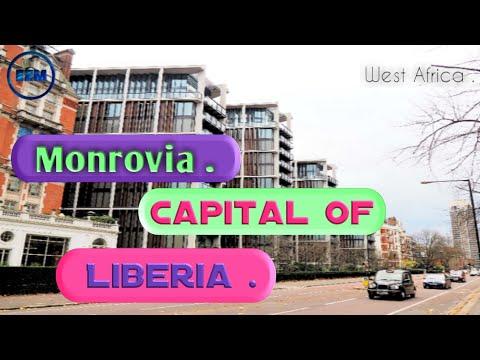 Discover Monrovia City The Capital of Liberia 🇱🇷 .