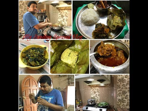 My Special Sunday Vlog in My Father's House | Non-veg Lunch Routine | Indian Daily Routine #103