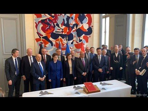 Signature des accords sur le lancement de démonstrateurs du SCAF - Dassault Aviation