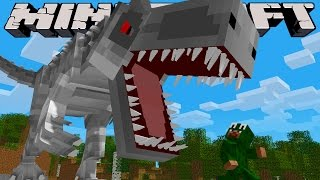 Minecraft Jobs - WORKING IN JURASSIC WORLD! (Custom Roleplay)