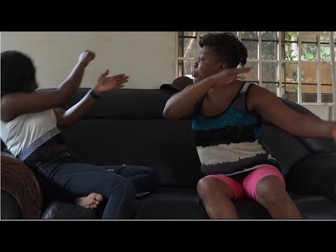 PREGNANCY PRANK ON MY AFRICAN MOTHER : SHE KICKED ME OUT !!